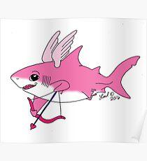 Cupid Shark Poster