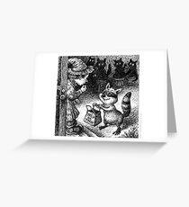 Halloween, Raccoon Style Greeting Card