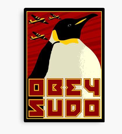 Obey SUDO Canvas Print