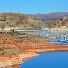 Lake Powell in Arizona USA.   by JaninesWorld
