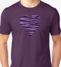 0219 Deep Lilac Tiger Unisex T-Shirt