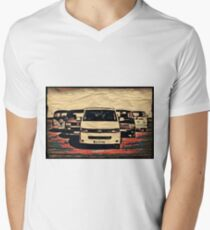 Through the ages Mens V-Neck T-Shirt