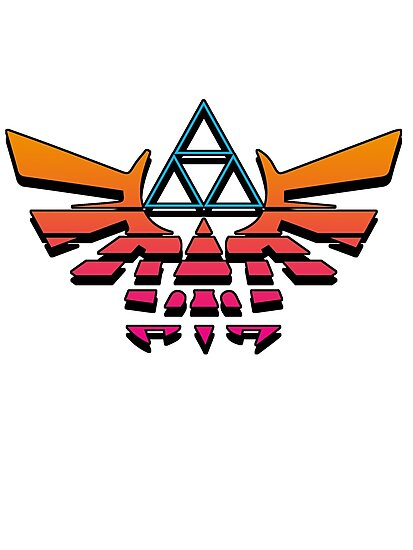 80's Triforce by Bricechrispies
