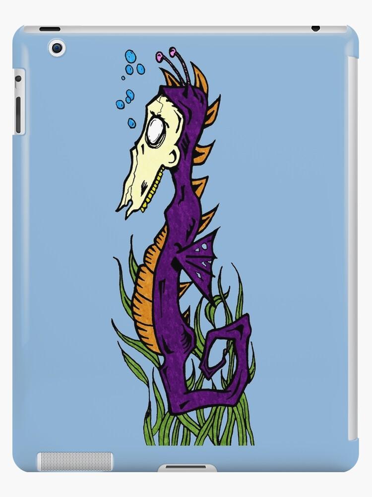 Zombie Seahorse by Joey Titman