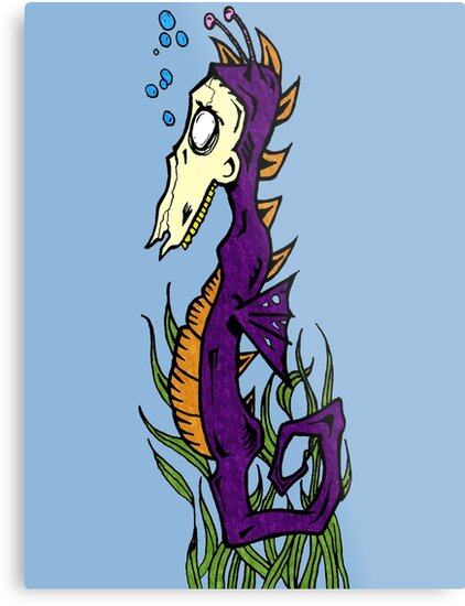 Zombie Seahorse by Joey Titman