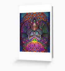 The God Source Greeting Card
