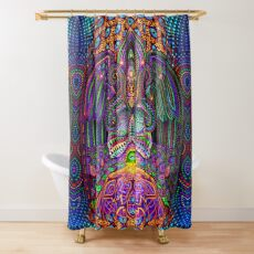 The God Source Shower Curtain