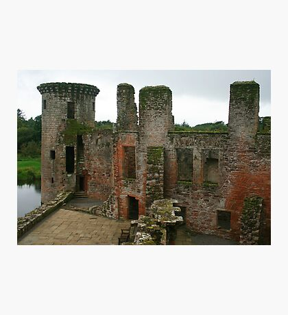 Caerlaverock Castle Photographic Print