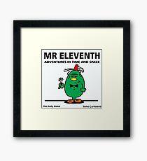 MR. ELEVENTH Framed Print