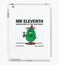 MR. ELEVENTH iPad Case/Skin