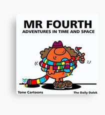MR. FOURTH Canvas Print