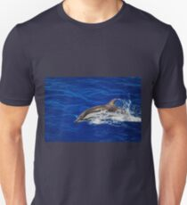 A wild free dolphin jumping  T-Shirt