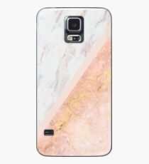 Marble & Rose Gold Case/Skin for Samsung Galaxy