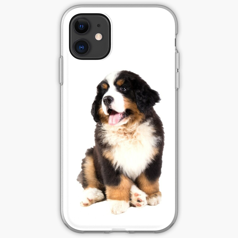 Bernese Mountain Dog Puppy Iphone Case Cover