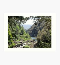 Launceston Gorge Art Print