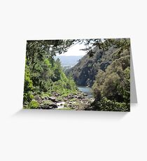 Launceston Gorge Greeting Card
