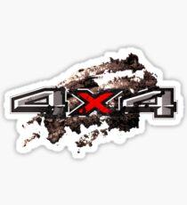 Offroad 4x4 sticker dirt logo t-shirt Sticker