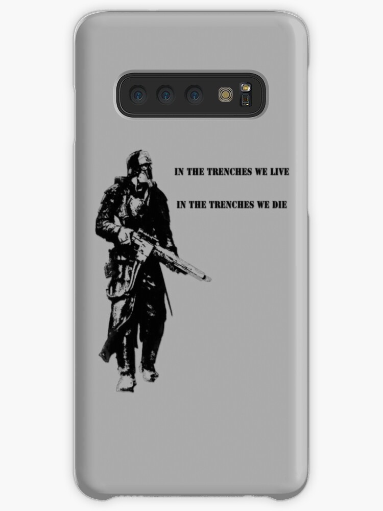 'In the trenches' Case/Skin for Samsung Galaxy by Ricottamagica