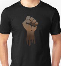 Schwarze Macht Slim Fit T-Shirt