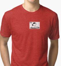 THE LAZINESS , SNOOPY Tri-blend T-Shirt