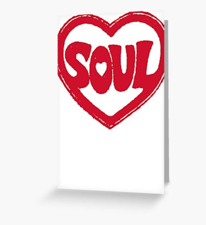 SOUL v.2  Greeting Card
