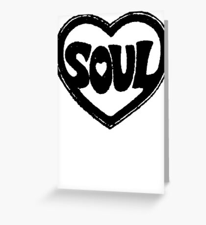 SOUL v.1  Greeting Card