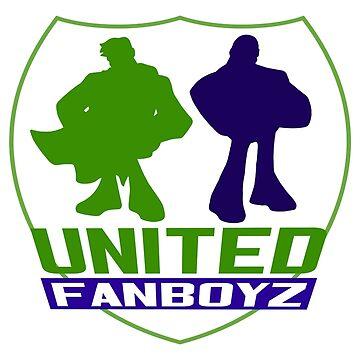 United Fanboyz Logo Tee by UFBWill