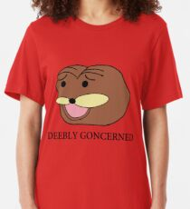 Deebly Goncerned Slim Fit T-Shirt