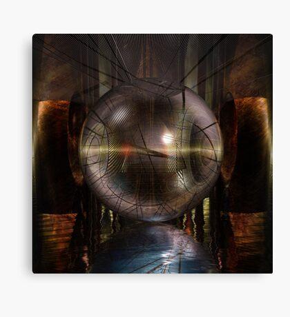 Alien Lights Canvas Print