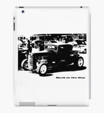 Back InTheDay iPad Case/Skin