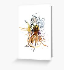 WOMEN BODY EXPRESSION Greeting Card