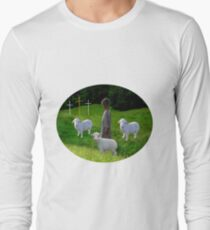 THE MESSAGE OF THE THREE CROSSES - VARIOUS APPAREL Long Sleeve T-Shirt