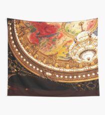 Paris Opera Chandelier Wall Tapestry