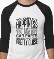 Happiness is car parts Men's Baseball ¾ T-Shirt