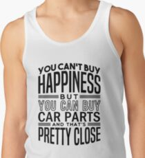 1eb97912514879 Happiness is car parts Men s Tank Top