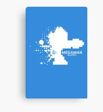Mega Man Canvas Print