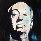 Alfred Hitchcock by Ryan Harvey