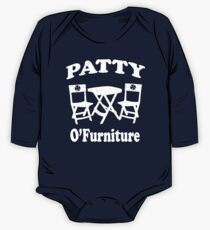 Patty O'Furniture T-Shirt (vintage look) One Piece - Long Sleeve