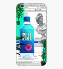 Fiji water Vaporwave iPhone Case