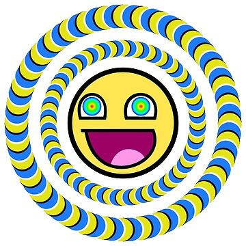Smiley Face Optical Illusion by 1mp3x