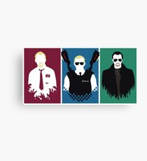 Cornetto Trilogy Canvas Print
