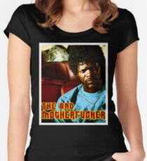 """Pulp Fiction- Jules """"The Bad Motherfucker"""" Women's Fitted Scoop T-Shirt"""