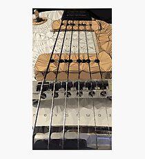 NW Guitarmetry Photographic Print