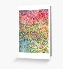 Lionfish Roams Greeting Card