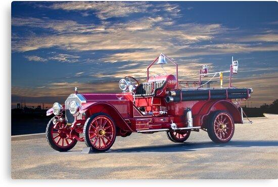 1921 American LaFrance Fire Engine by DaveKoontz