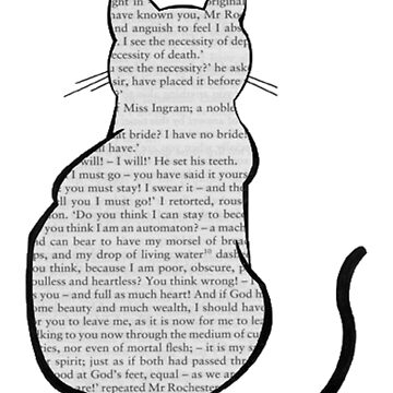 Cats and Jane Eyre by rhizatay