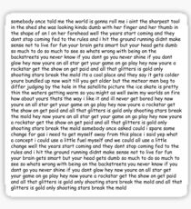Smash Mouth - All Star lyrics Sticker