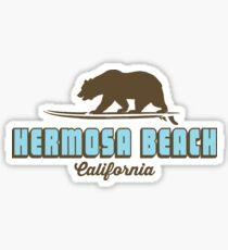 Hermosa Beach - California. Sticker