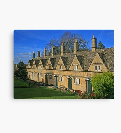 Almshouses, Chipping Norton Canvas Print