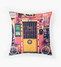 Colorful Balat Throw Pillow